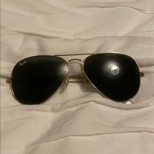 Authentic Original Ray-ban Aviator Sunglasses